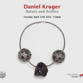 Lecture: Nature and Artifice by Daniel Kruger.