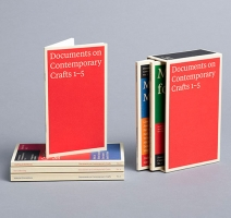 Documents on Contemporary Crafts 1-5.
